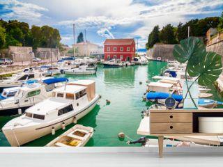 small Fosa bay in Zadar