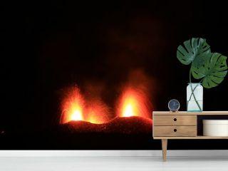 Eruption du piton de la fournaise de juillet 2017