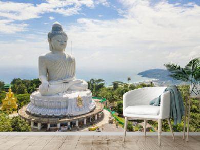 The big buddha on Nakkerd Hills Phuket