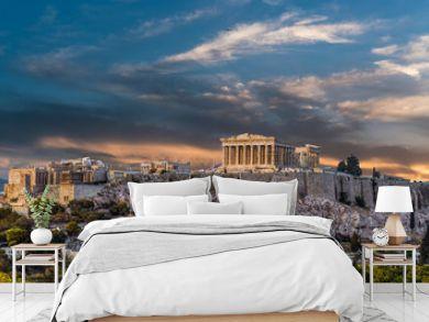 Parthenon, Acropolis of Athens, before Sunset