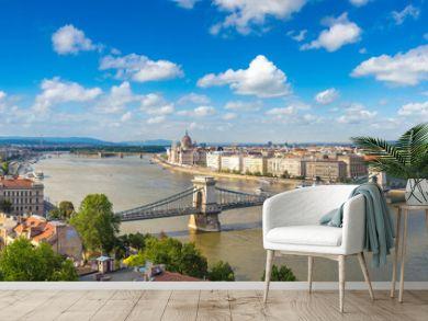 Panoramic view of Budapest