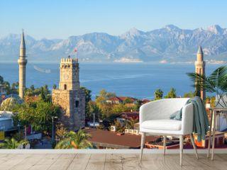 Panoramic view of Antalya Old Town, Turkey