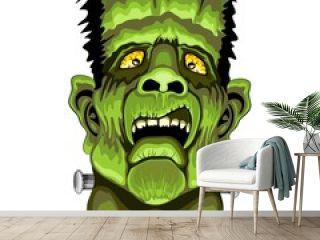Frankenstein Zombie Horror Face