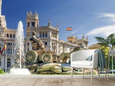 fountain of Cibeles In Madrid, Spain