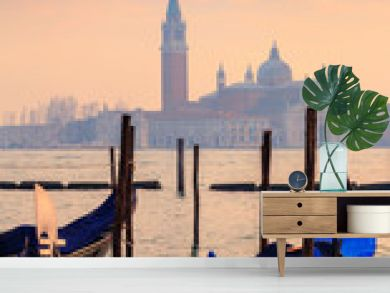 View on the lagoon and the island of San Giorgio Maggiore, from St. Mark's Square