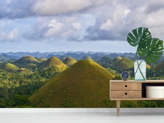 Famous Chocolate Hills view, Bohol Island, Philippines