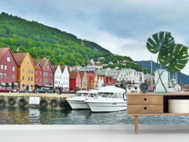 Norway-embankment in Bergen