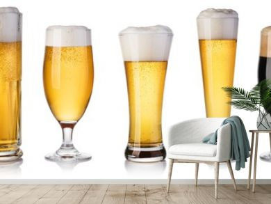 set of beer Glass