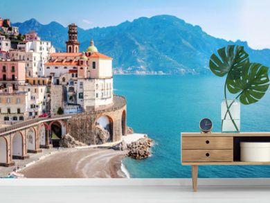 The scenic village of Atrani, Amalfi Coast