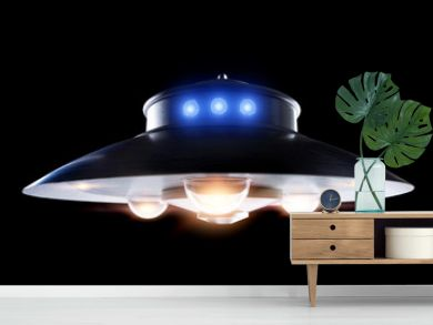 Classic ufo saucer