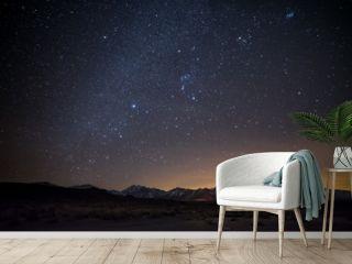 Milky Way Over Sierra Eastside