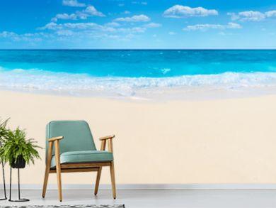 Summer beach and sea
