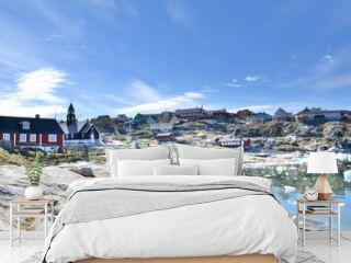 Greenland. Town of Ilulissat