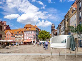 Marktplatz, Göttingen, Niedersachsen, Deutschland