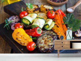Gemischtes Gemüse vom Grill