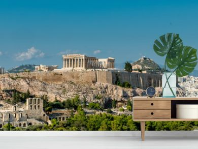 The Parthenon, Acropolis and modern Athens