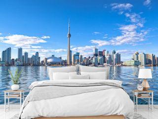 Skyline of Toronto with CN tower Ontario Canada