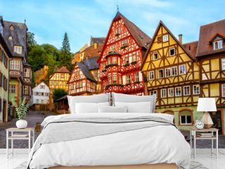 Miltenberg medieval Old Town, Bavaria, Germany