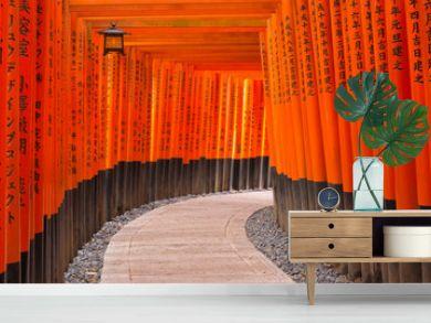 Fushimi Inari Taisha Schrein, Kyoto, Japan