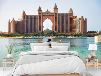 Female tourist in Dubai