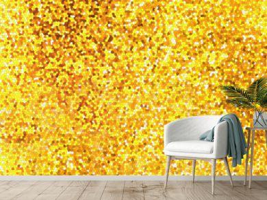 fond feuille d'or mosaïque vitrail
