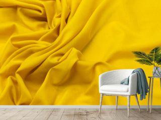Cotton fabric, cambric ocher