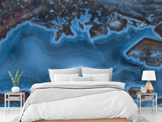 blue ocean, blue agate texture, bathroom and kitchen tile with blue abstract pattern
