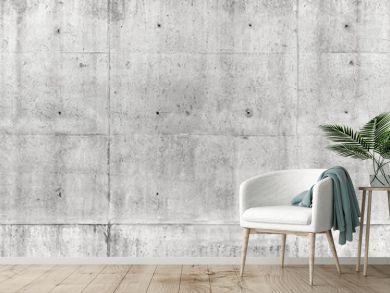 Seamless texture, gray concrete wall