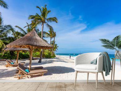 Kendwa beach in Unguja aka Zanzibar Island Tanzania East Africa