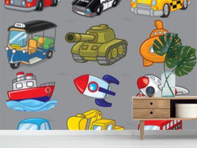 12 Vector transport, Cartoon transport