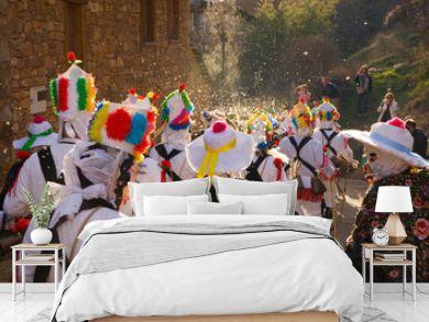 Almiruete Carnival, Guadalajara, Castilla la Mancha, Spain, Europe