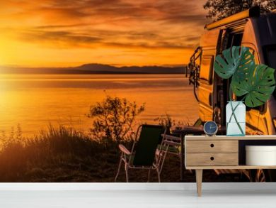RV Camper Van Camping