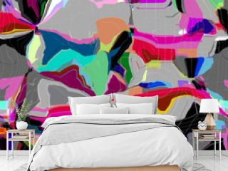 Abstract colored pattern. Digital art