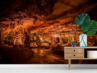 Marengo Cave, Indiana, IL Caveman