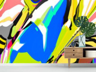 Abstract design with art and texture elements