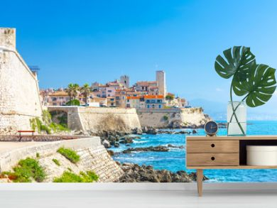 Historic center of Antibes, French Riviera, Provence, France