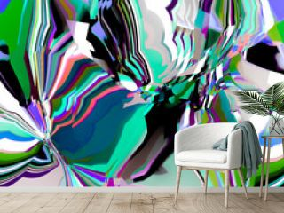 Abstract pattern. Digital art design