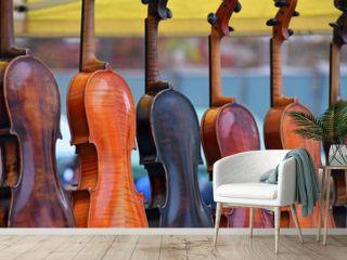 Violins For Sale In Shop