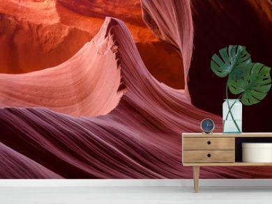 Beautiful Antelope canyon,Navajo land east of Page, USA
