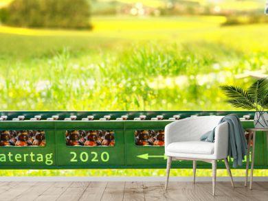 Vatertag 2020: So halten Sie Abstand!