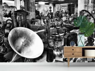 Old-fashioned Objects For Sale In Shop