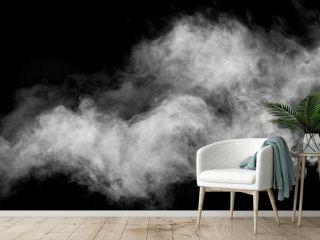smoke stock image