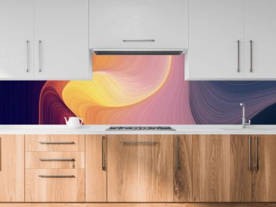 flowing header with dark salmon, very dark violet and antique fuchsia colors. dynamic curved lines with fluid flowing waves and curves