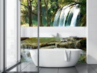 Mexico waterfall El Chiflon