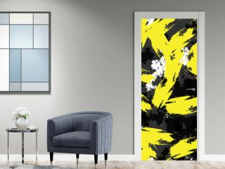 Abstract seamless vector background of paint strokes.