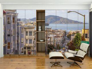 San Francisco Blick auf Alcatraz