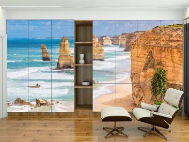 Twelve Apostles rocks on  Great Ocean Road, Australia