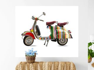 scooter isolated on white
