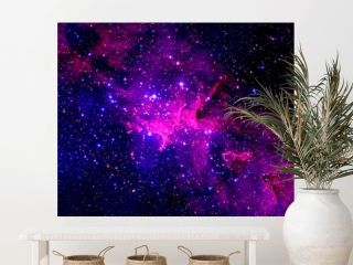 A beautiful galaxy in deep space. Elements of this image were furnished by NASA.