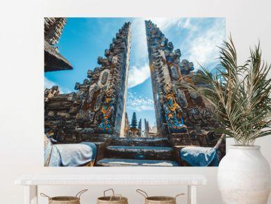 A beautiful view of Ulun Danu Batur temple in Bali, Indonesia